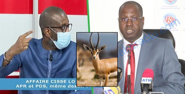 Affaire des Gazelles – Bouba Ndour hausse le ton : « Dagnou wara dakh le ministre Abdou Karim Sall… »