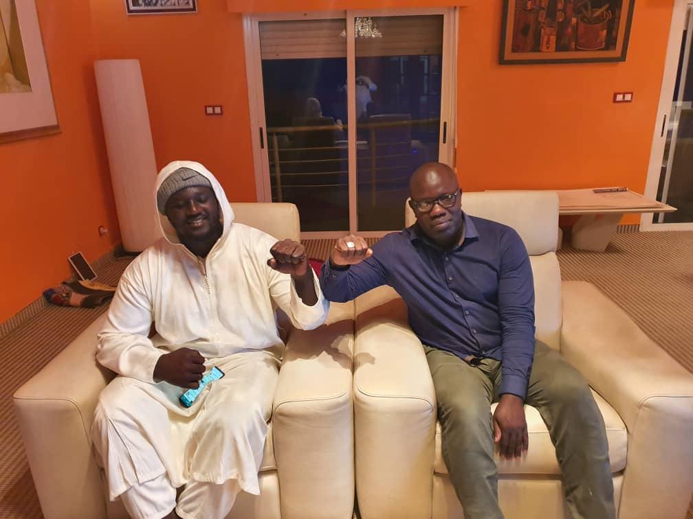 Les moments forts des retrouvailles entre BG2 , A.Aidara ,Gackou, El. Diouf et Baboye