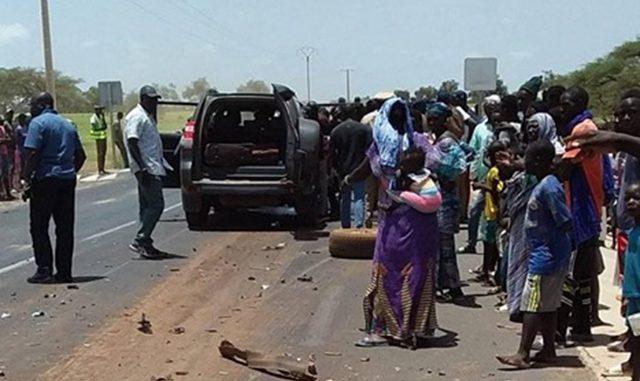 Koumpentoum: Le convoi du ministre de l'Elevage fait un accident