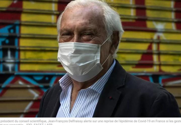 Coronavirus en France: «les chiffres sont inquiétants», estime Jean-François Delfraissy
