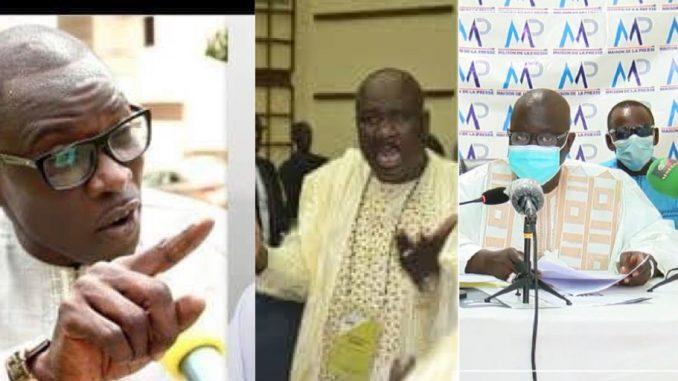 La grosse colère de Mansour Diop contre les griots de l'APR « Niakh respecter askan wessouwoul li… ».Regardez