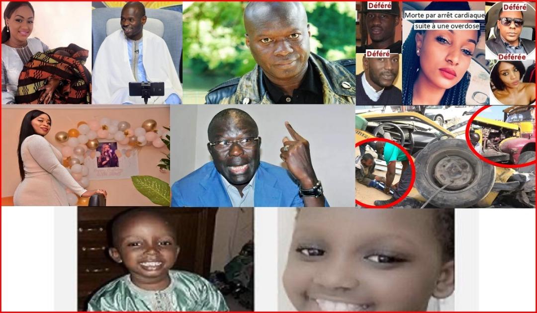 """Tange Show: Les co- détenus de Dame Amar restent en prison, Aida Samb"""" dema beugue dieukeur"""" kya Aidara épouse de Pape Cheikh Diallo"""