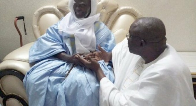 Touba : Cissé Lô offre un bélier à Serigne Mountakha