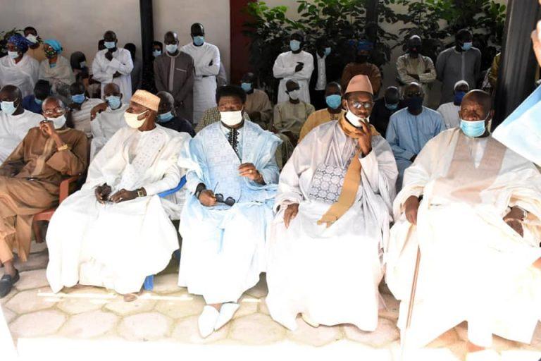 Levée du corps du journaliste Babacar Touré, fondateur du Groupe de presse Sud Com à l'hôpital Principal
