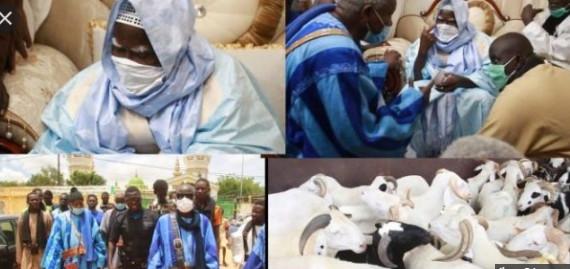 Tabaski 2020: Le président de la République présente ses vœux à la Oummah Islamique