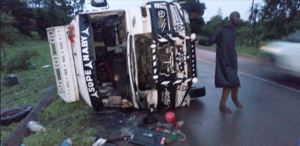 Sédhiou - Un Ndiaga Ndiaye se renverse, 18 blessés dont 03 dans un état critique