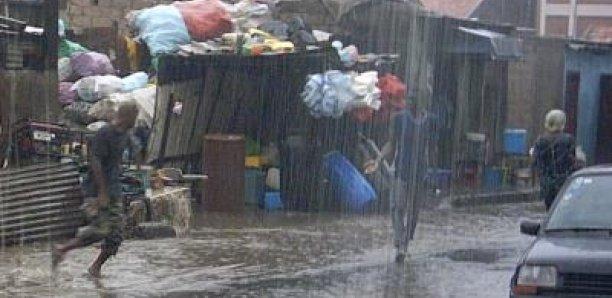Des pluies dans la quasi-Totalité du territoire national, d'ici à samedi