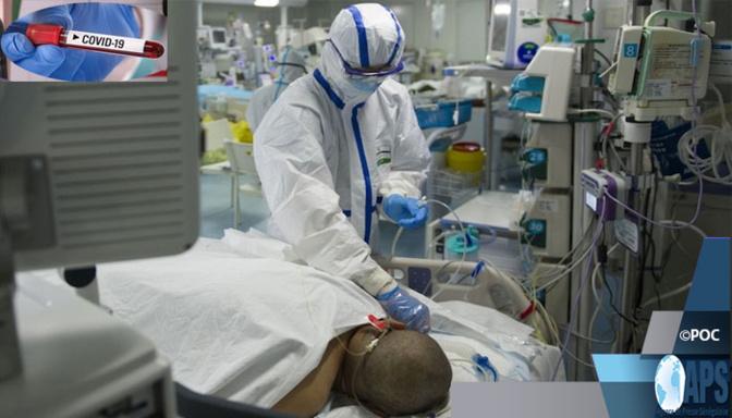 Covid -19: 126 nouveaux cas positifs, 51 nouveaux guéris, 1 nouveau décès et 43 cas graves