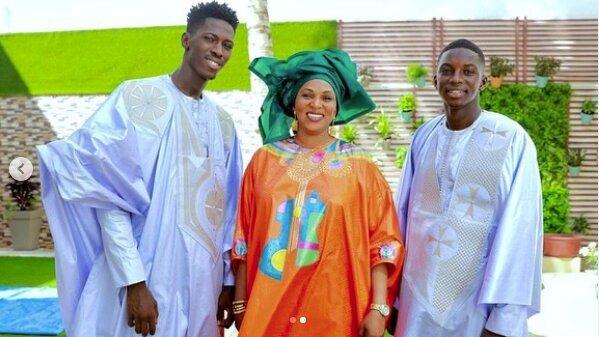 """Le sagnsé """"super ndaanan"""" du fils d'Aly Ngouille Ndiaye avec sa mère et son frère"""