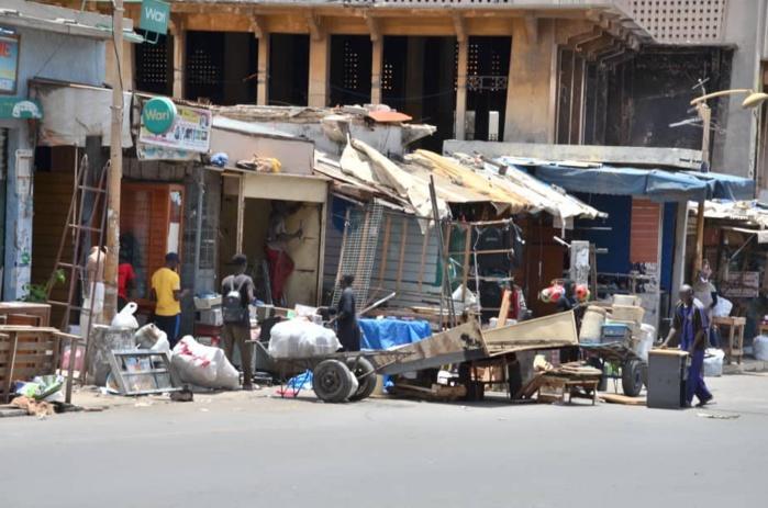 Démolition d'une partie du marché Sandaga : 325 commerçants sur les 383 comptabilisés vont rejoindre le site de recasement!