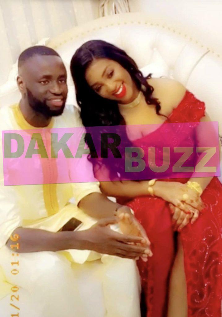 Regardez comment Cheikhou Kouyaté a célébré la fête de Tabaski avec ses deux épouses