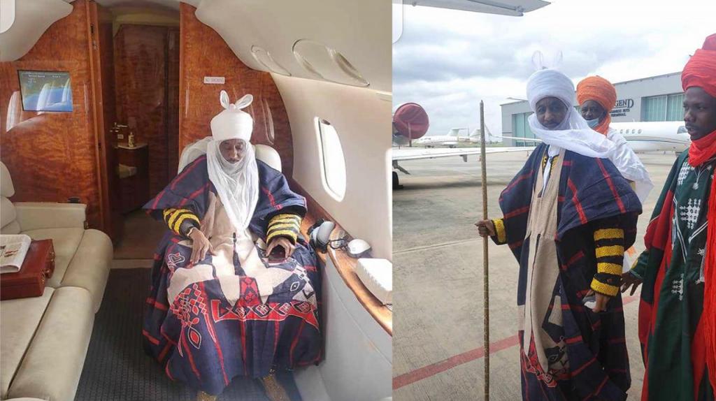 Inhumation du défunt Khalife de Médina Baye : Le voyage de son Altesse Royale Kaulaha à Kaolack
