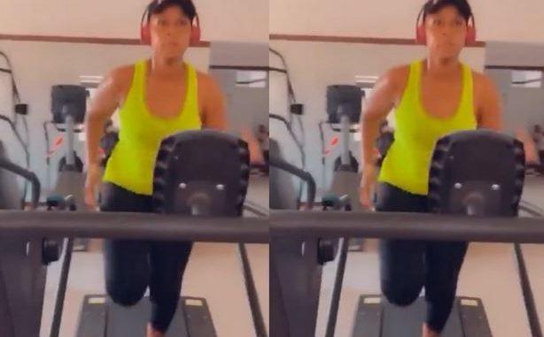 Workout : Aida Samb surprend aux entraînements et affiche sa forme du moment