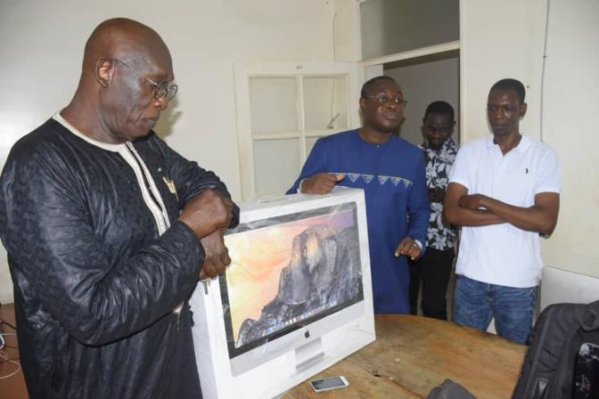Attaque de Les Echos - Baba Tandian exhorte Serigne Moustapha Sy à condamner l'acte