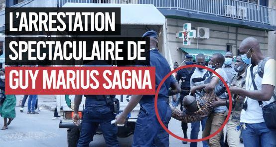 L'arrestation spectaculaire de GUY MARIUS SAGNA: Policiers Yi Dagn Ko Yanou