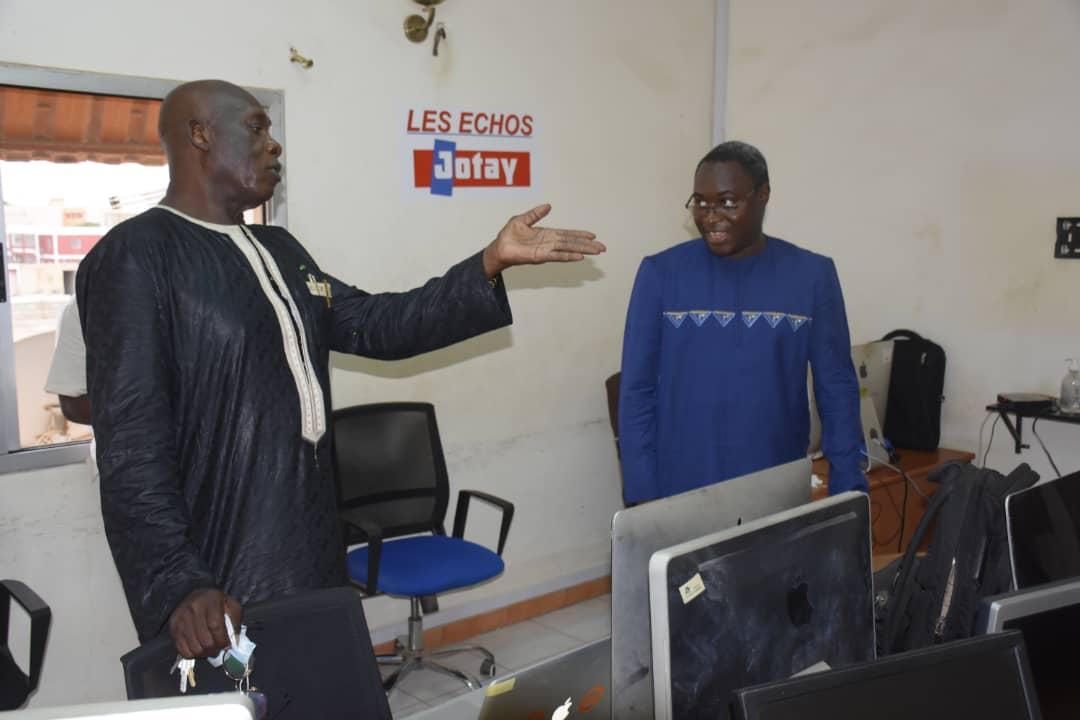 Baba Tandian demande à Serigne Moustapha Sy de condamner le saccage des Echos
