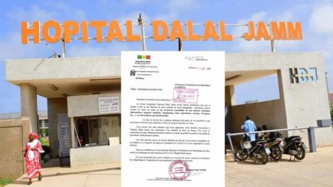 Sénégal : Après avoir dit ses vérités à Macky Sall, Le PCA de l'Hôpital Dalal Jam démissionne