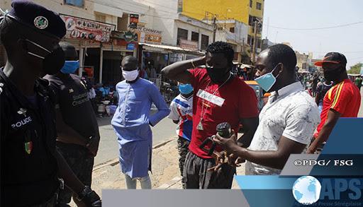Non-respect du port du masque : la police recolte 12 652 000 FCfa en une semaine