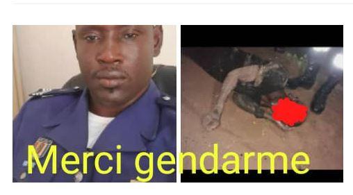 Mayib Mbow, le gendarme qui a risqué sa vie pour sauver une fille électrisée