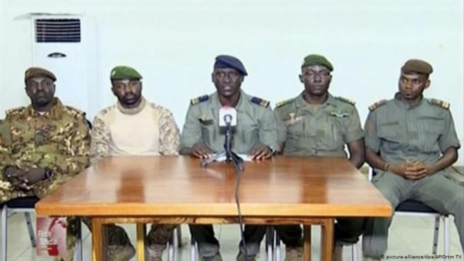 Mali - Le programme de transition élaboré par la junte militaire réunie sous le CNSP