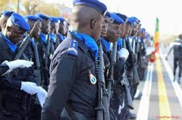 Gendarmerie nationale : 270 éléments dont 41 femmes en route vers la Mission des Nations Unies pour la stabilisation de la RDC