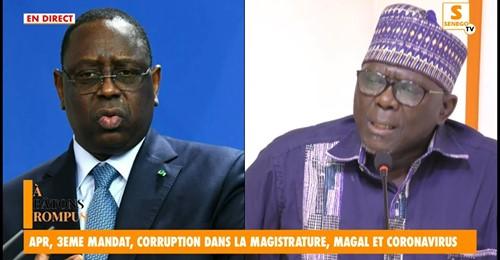 ")""Macky Sall so toudé 3e mandat, day melni dangako rayal…"""