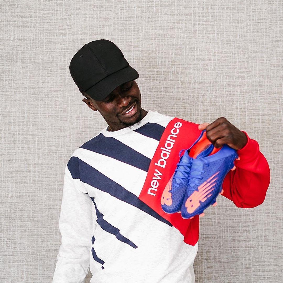 Sadio Mané dévoile ses nouveaux crampons