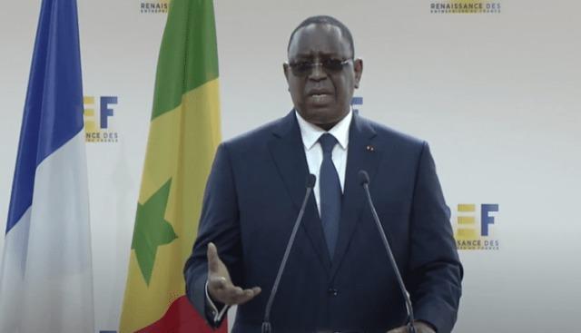 Discours de SEM le Président Macky Sall à la Rencontre des Entrepreneurs de France
