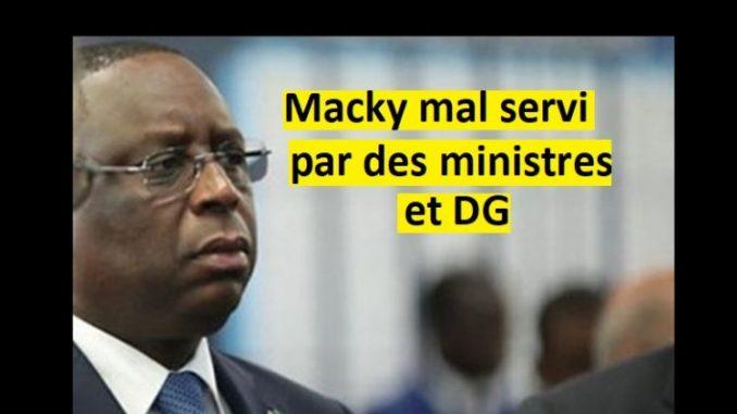 Pagaille Dans Le Gouvernement Et Les Directions…Macky Doit Agir