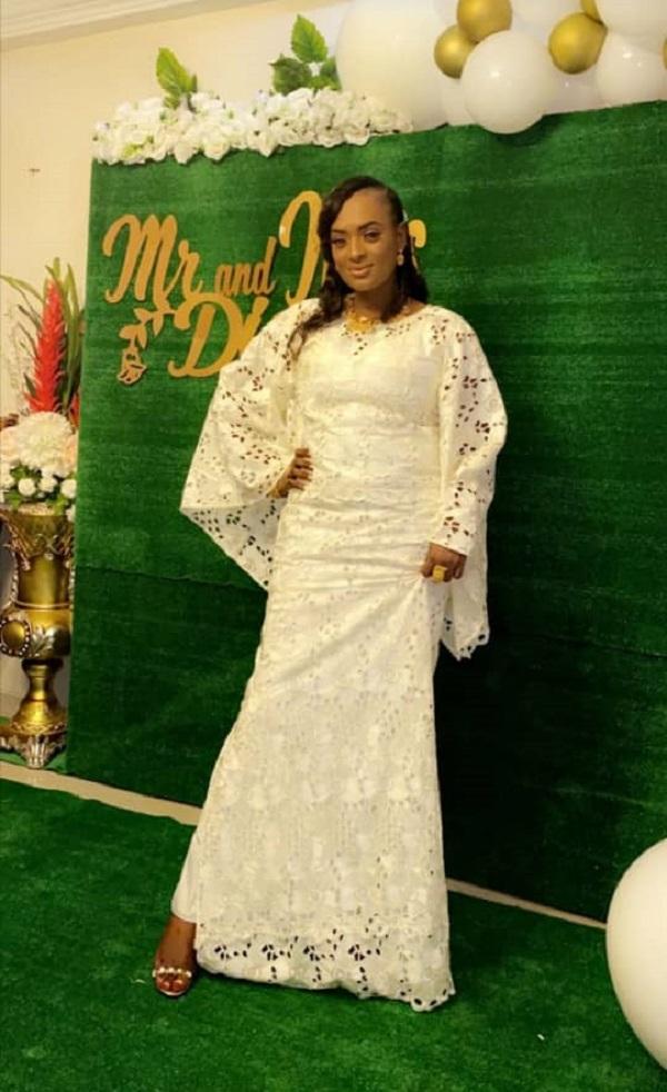 Mariage de Fatou Diome, la fille du magistrat Antoine Félix Diome: les ravissantes images d'une célébration