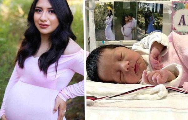 Miracle dans un drame : une femme enceinte tuée par un chauffeur, sa fille attendue un mois plus tard, avance sa venue au monde…