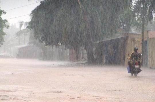 Temps pluvieux sur le pays et vents assez forts sur les côtes casamançaises (Anacim)