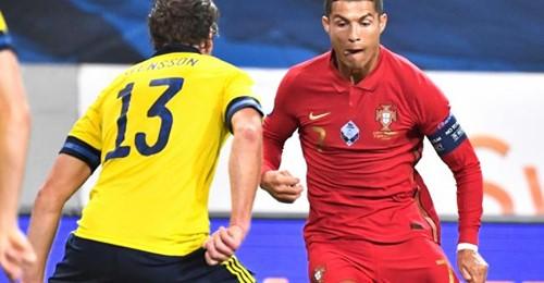 Portugal-Cristiano Ronaldo inscrit son centième but sur coup franc