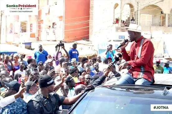 EN DIRECT – INONDATION : Arrivée De Ousmane Sonko À Keur Massar