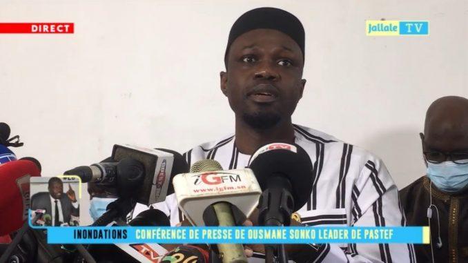 Ousmane Sonko : « Sur les 765 milliards annoncés par Macky Sall, seuls 48 ont été utilisés »