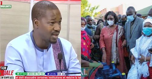 Aliou Sané clash sévèrement la descente de Maréme Faye Sall dans la banlieue