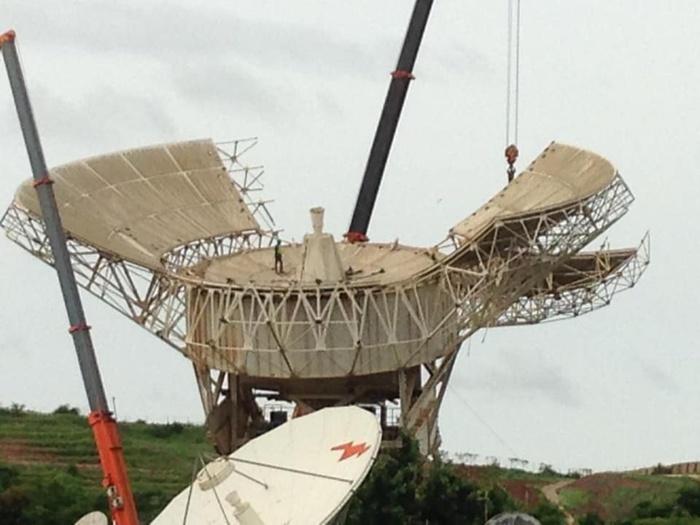 Antenne satellite de Gandoul : « L'État de rouille très avancée des tôles et des grosses pièces métalliques constituait un danger de plus en plus important (Sonatel)