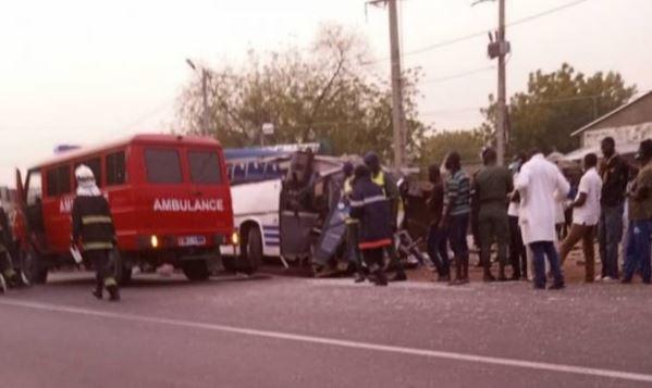 Urgent – Touba : 01 mort et 08 blessés dans l'accident d'un véhicule de police