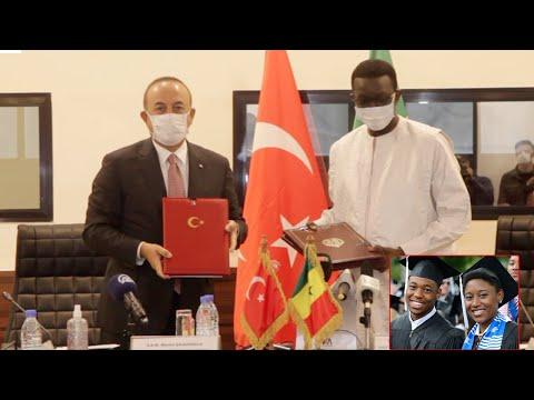 Coopération entre le Sénégal et la Turquie : Le ministre Amadou Bâ signe le partenariat fructueux