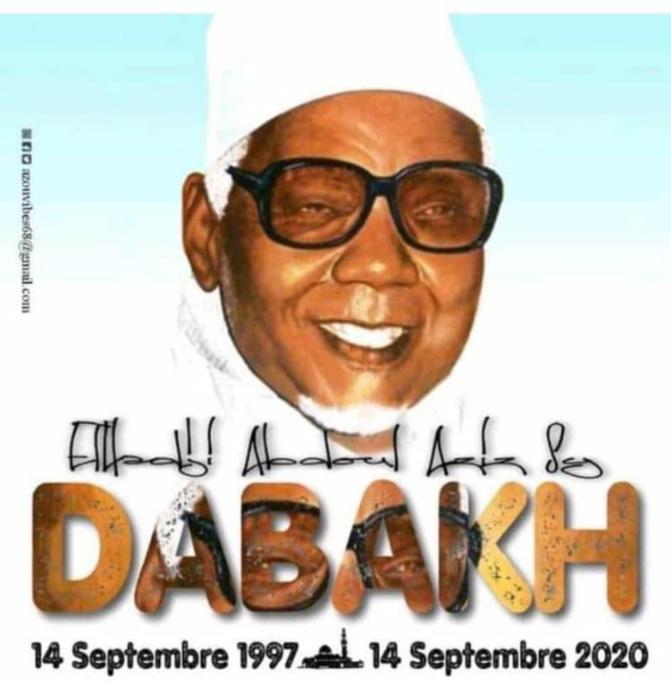 1997-2020 : Déjà 23 ans sans Abdou Aziz Dabakh Malick, l'apôtre des pauvres