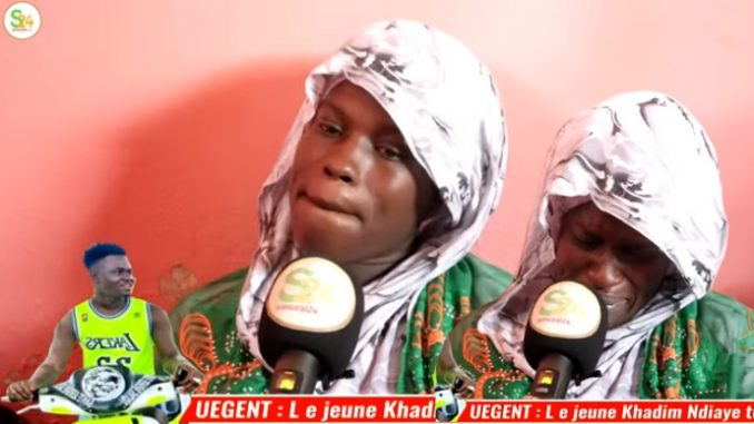 Triste fin d'un jeune à Keur Mbaye Fall, sa femme inconsolable, sa Maman dans tout ses états