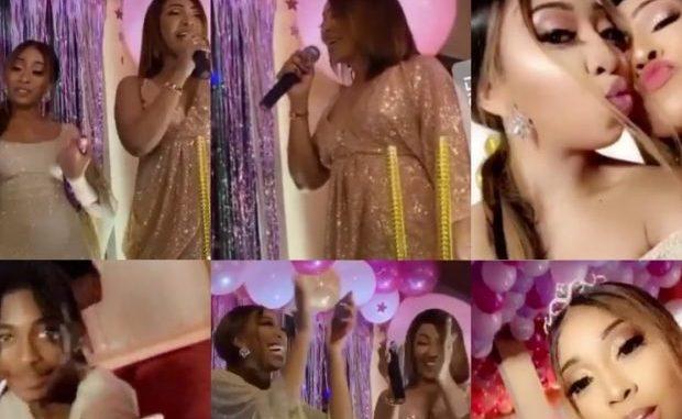 "Anniversaire de Zeyna Ndour : Viviane et Sidy Diop assurent le show "" Li nékh naa"""