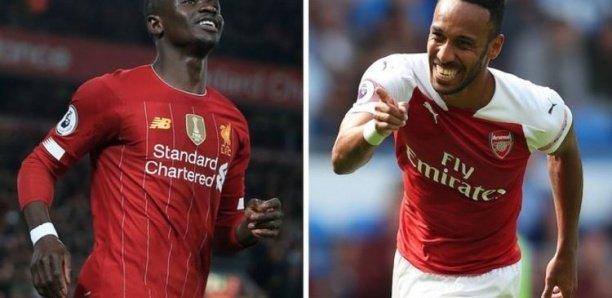 Nouveau contrat d'Aubameyang : L'attaquant gabonais gagne presque le double du salaire de Sadio Mané