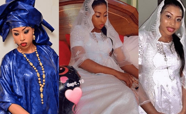 Les images du mariage de Bessel Bass avec un footballeur sénégalais