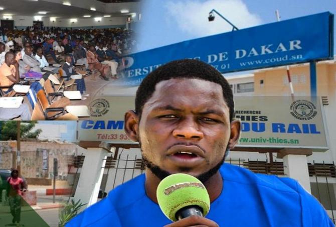 UCAD : La police arrête Pape Touré, coordonnateur « Sénégal, notre priorité »
