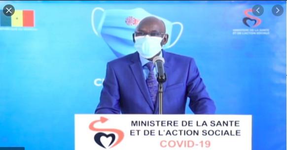 Covid-19: Le Sénégal enregistre ce mercredi 36 nouveaux cas contre 97 guéris et 1 décès