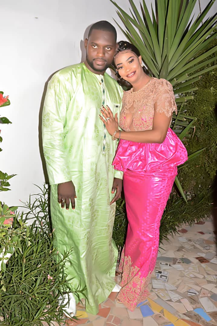 Carnet rose: En image , Revivez le mariage du célèbre maitre tailleur Sara couture à Ngor