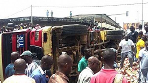 Sangalkam : Un camion tue un enfant et provoque la colère des populations