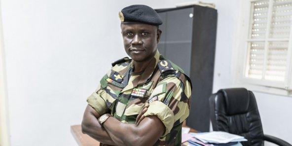 Dernière minute – Le Général François Ndiaye chez Abdou Karim Fofana