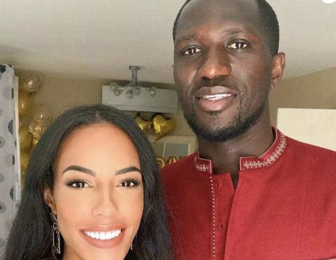 Le footballeur Moussa Sissoko et sa femme : Le bonheur avec leur fille…(photos)